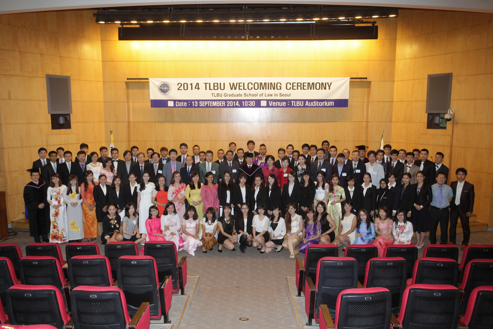 2014 TLBU Welcoming Ceremony